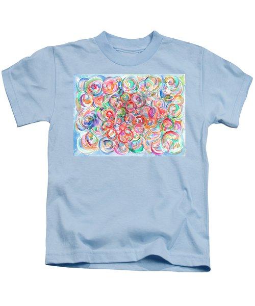 Multicolor Bubbles Kids T-Shirt