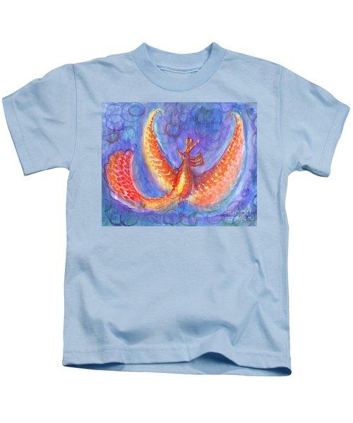 Mystical Phoenix Kids T-Shirt