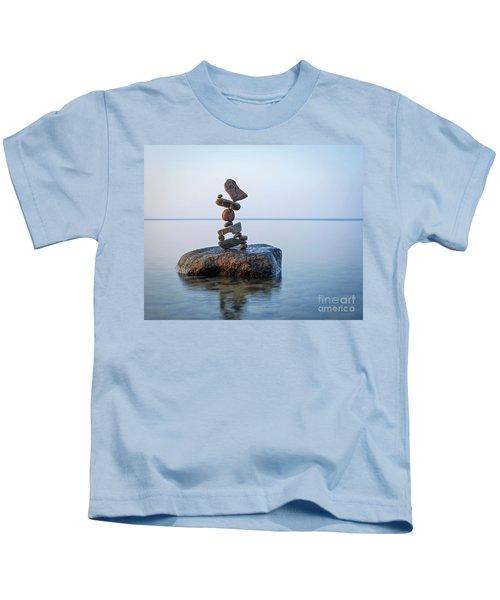 Zen Stack #9 Kids T-Shirt