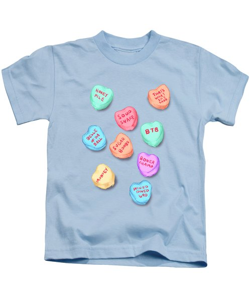 Office Convo Hearts Kids T-Shirt
