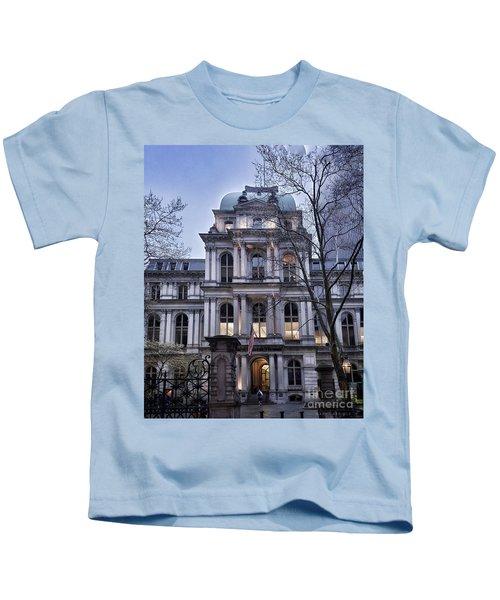 Old City Hall, Boston Kids T-Shirt