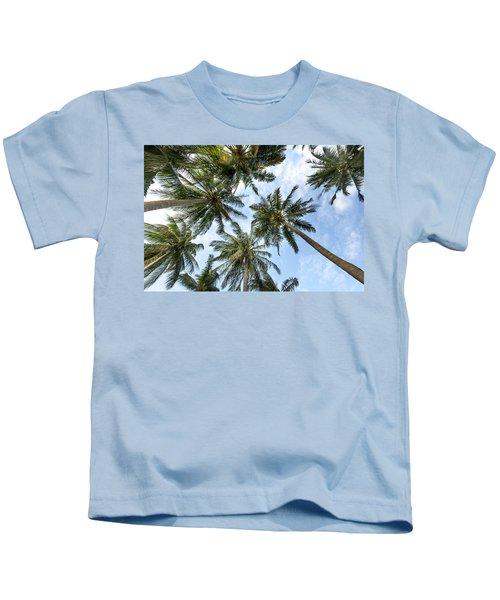 Palms  Beach Kids T-Shirt