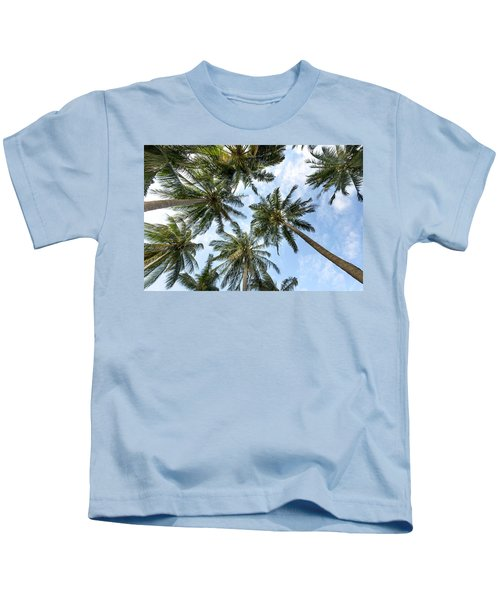 Palms  Beach Kids T-Shirt