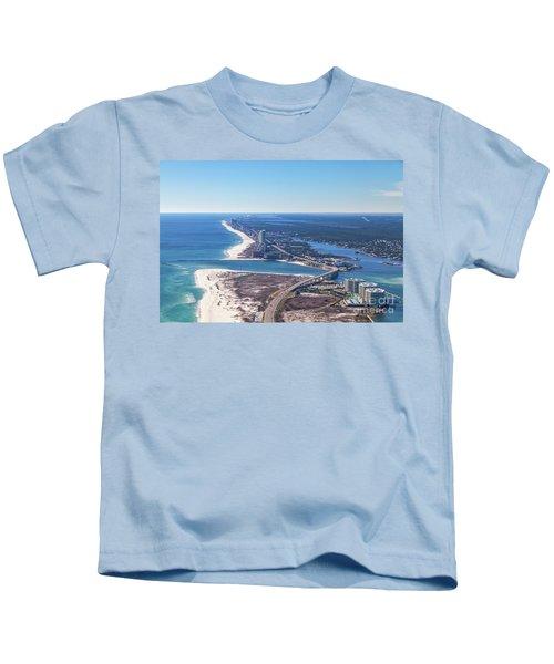 Perdido Pass Bridge Kids T-Shirt