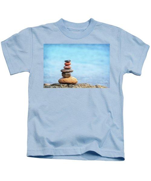 Pile Of Beach Pebbles Kids T-Shirt