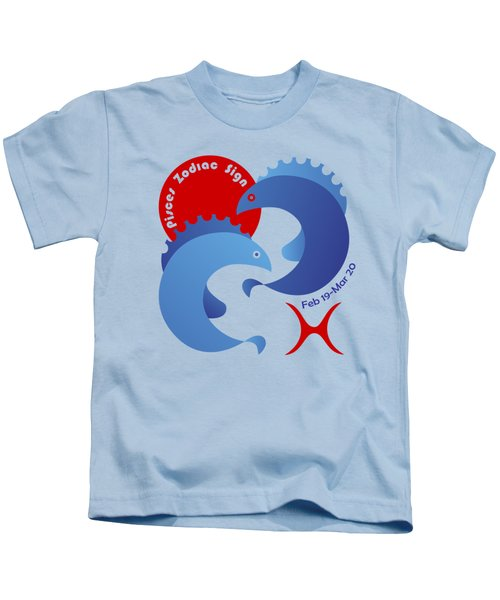 Pisces - Fishes Kids T-Shirt