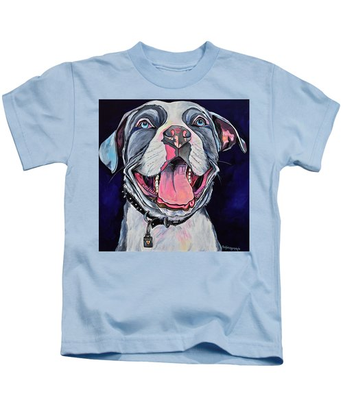 Pit Bull Love Kids T-Shirt