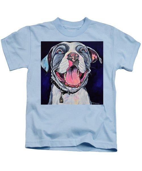 Pit Bull Love Kids T-Shirt