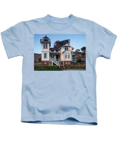 Port San Luis Lighthouse Kids T-Shirt