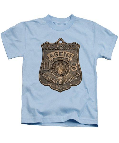 Prohibition Agent's Badge - C. 1920s Kids T-Shirt