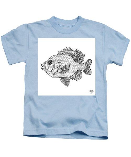 Pumpkinseed Fish Kids T-Shirt