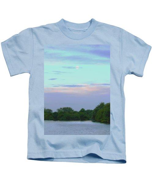 Purple Dawn Kids T-Shirt