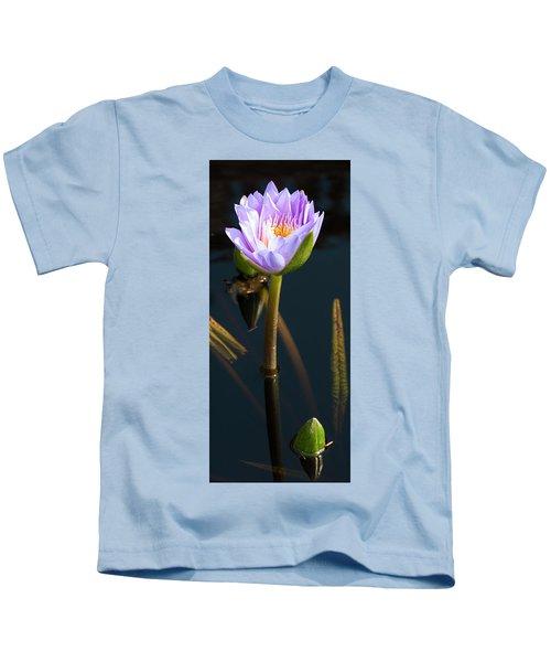 Purple Elegance Kids T-Shirt