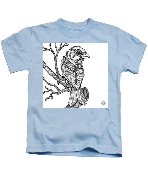 Purple Finch Kids T-Shirt