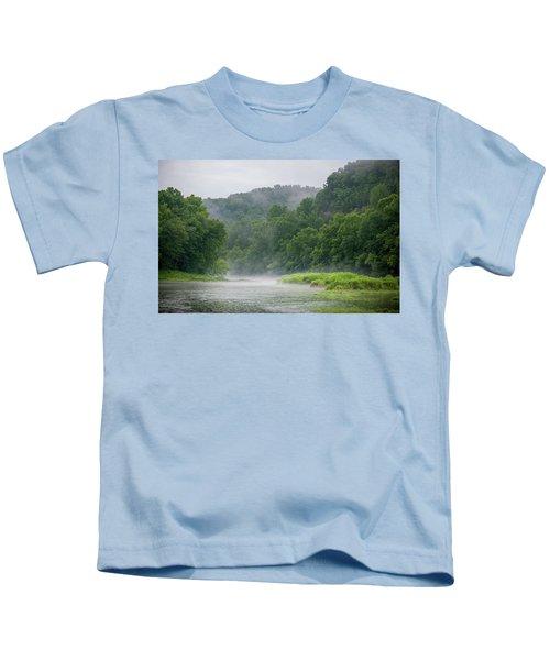 River Mist Kids T-Shirt