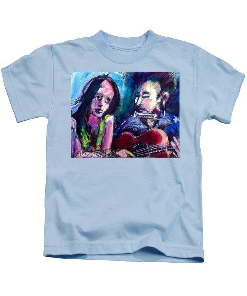 Sad Eyed Lady Kids T-Shirt
