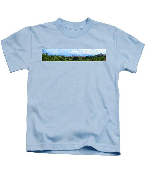 Sapphire Panorama Kids T-Shirt