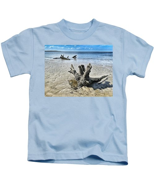 Sculpted By The Sea Kids T-Shirt