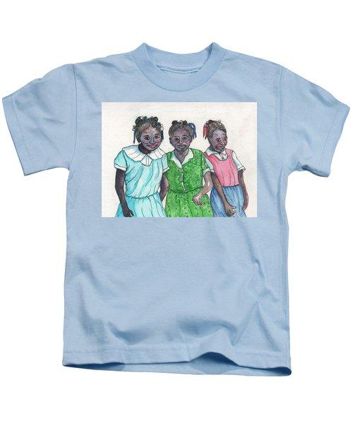 Shy Girls From South Alabama Kids T-Shirt