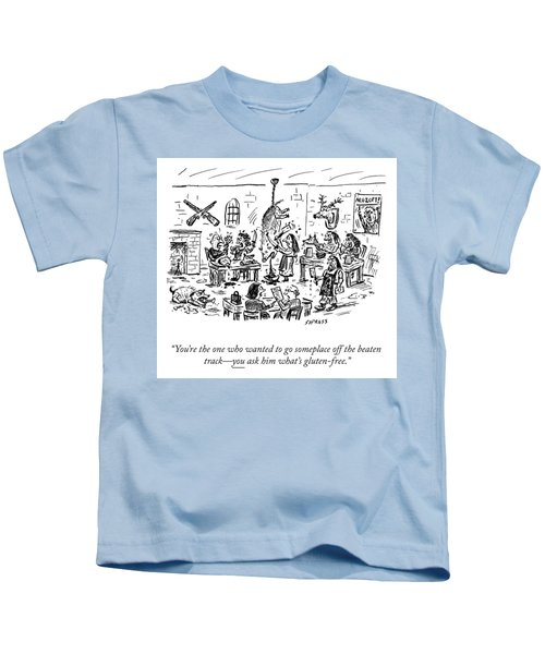 Someplace Off The Beaten Path Kids T-Shirt