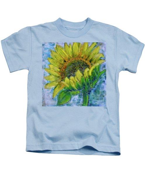 Sunflower Happiness Kids T-Shirt