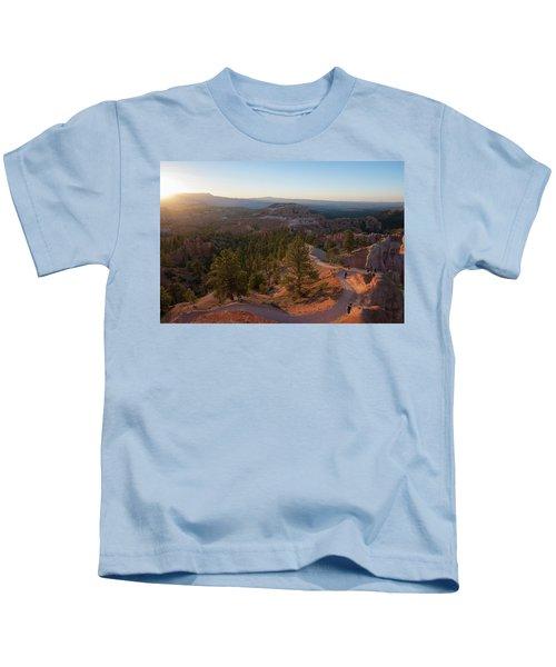 Sunrise Over Bryce Canyon Kids T-Shirt