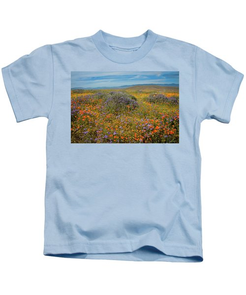 Superbloom Explosion At The Poppy Reserve Kids T-Shirt