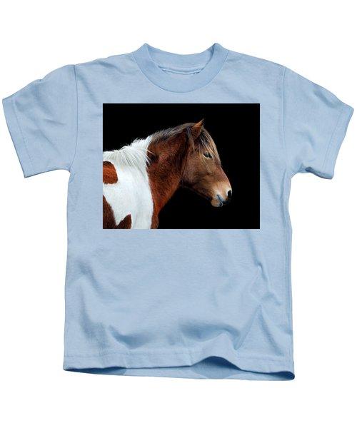 Susi Sole Portrait On Assateague Island Kids T-Shirt