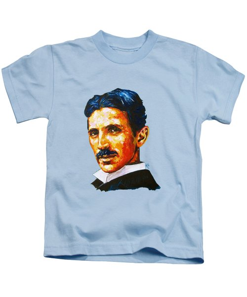 Tesla - Pure Genius Kids T-Shirt