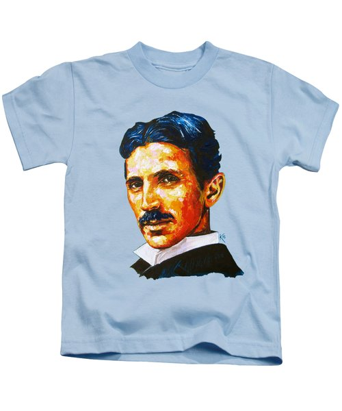 Tesla - Pure Genius Kids T-Shirt
