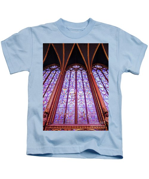 The Awe Of Sainte Chappelle Kids T-Shirt