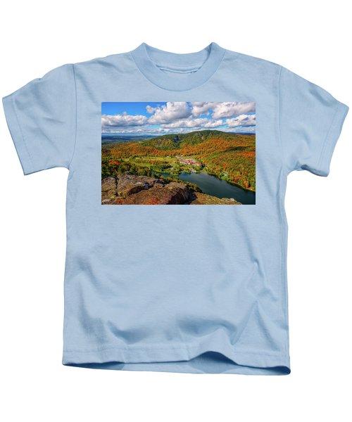 The Balsams Resort Autumn. Kids T-Shirt