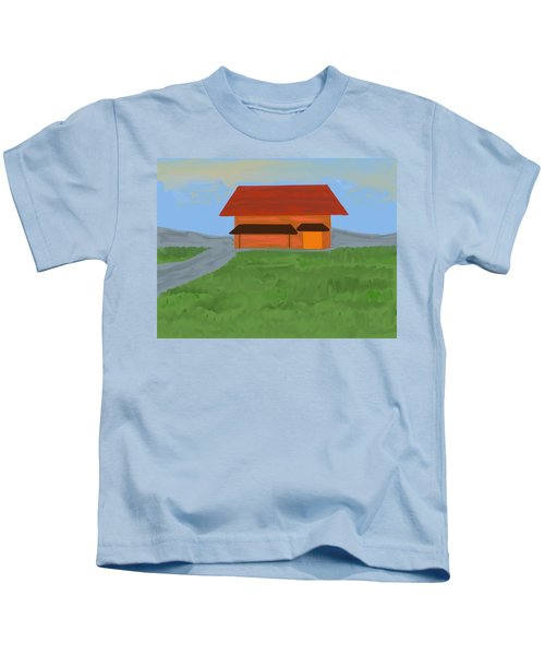 The Best Country Road Diner Kids T-Shirt