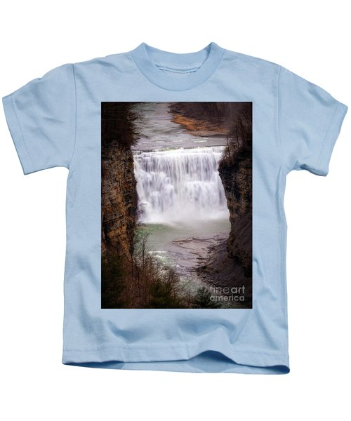 The Middle Falls Kids T-Shirt