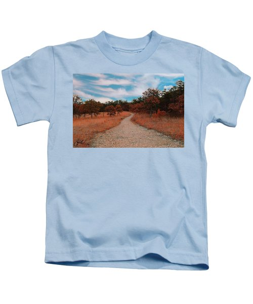 Kids T-Shirt featuring the photograph The Path To Enlightenment by Chris Montcalmo