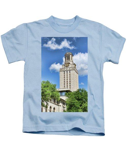 c29733a3bc6 The University Of Texas Tower - Austin T X Kids T-Shirt