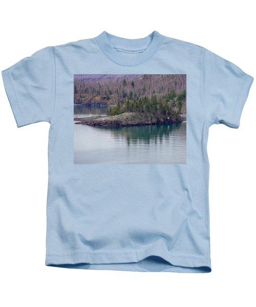 Tranquility In Silver Bay Kids T-Shirt