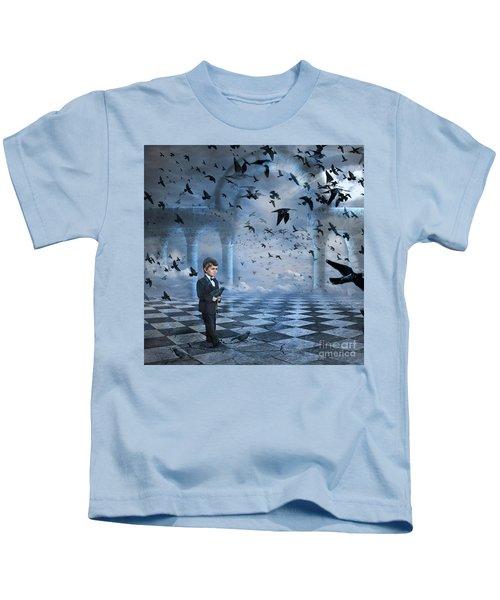 Tristan's Birds Kids T-Shirt