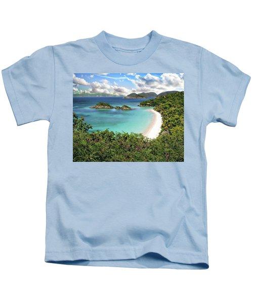 Trunk Bay Kids T-Shirt