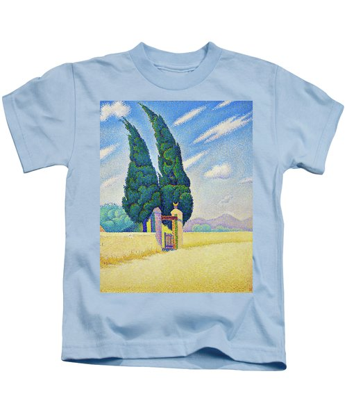 Two Cypresses - Digital Remastered Edition Kids T-Shirt