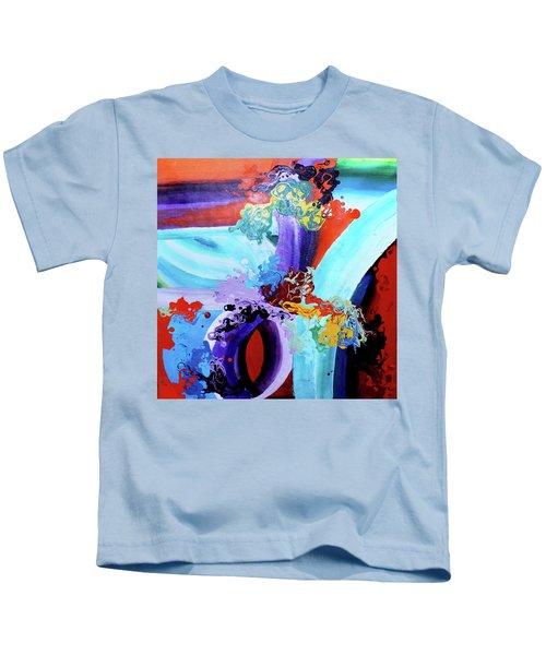 Watery Waves Kids T-Shirt