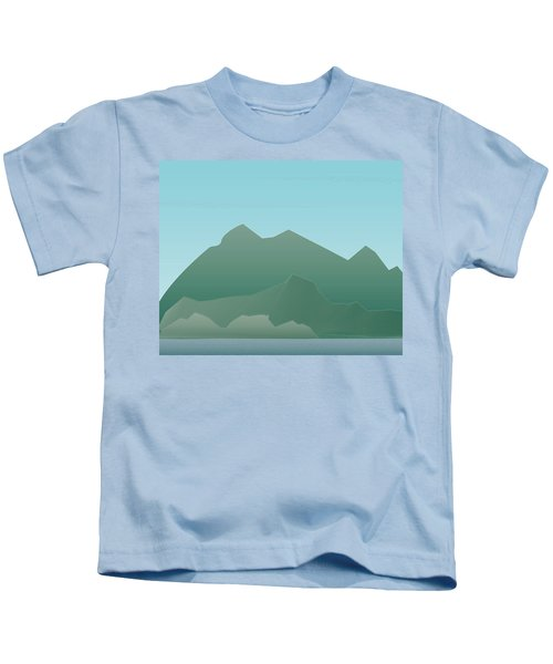Wave Mountain Kids T-Shirt