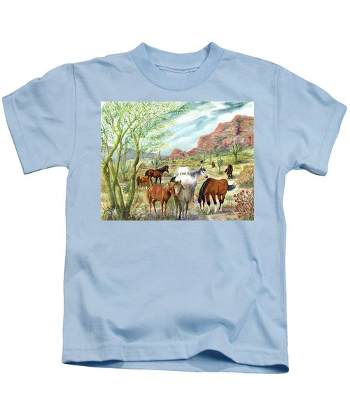 Wild And Free Forever Kids T-Shirt