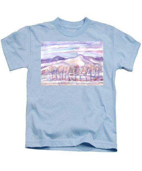 Winter Sunrise On A Frosty River Kids T-Shirt