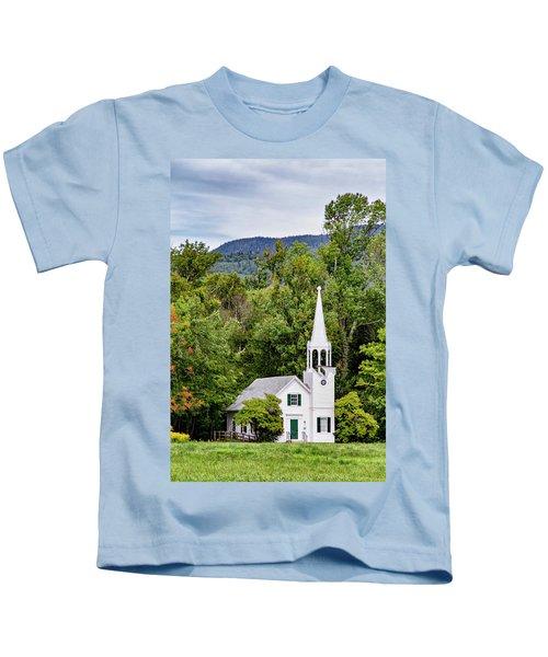 Wonalancet Union Chapel Kids T-Shirt