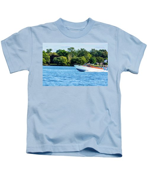 Yes Its A Chris Craft Kids T-Shirt