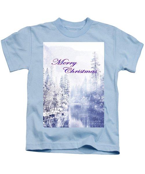 Yosemite-river Kids T-Shirt