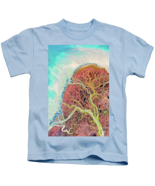Yukon River Delta Kids T-Shirt