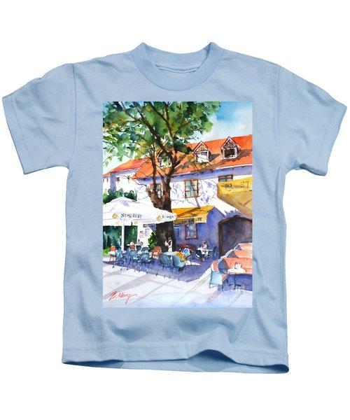 Zagreb Cafe #3 Kids T-Shirt