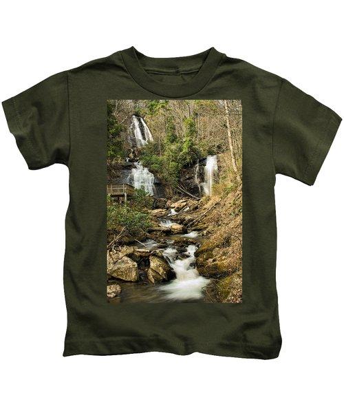 Amacola Falls Kids T-Shirt